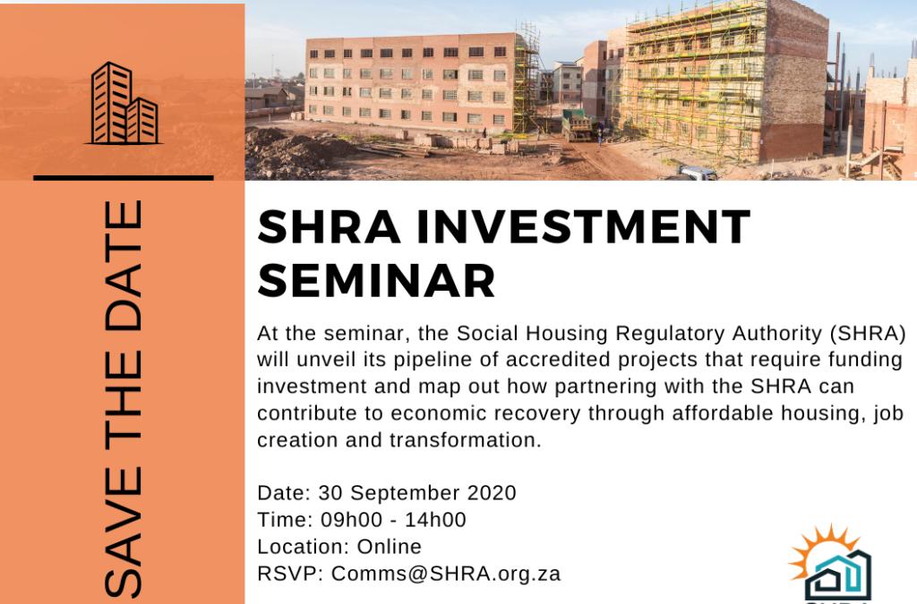 SHRA Investment Seminar