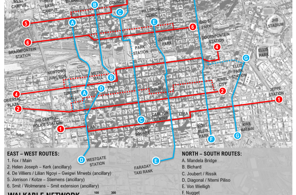 The Walkable Network